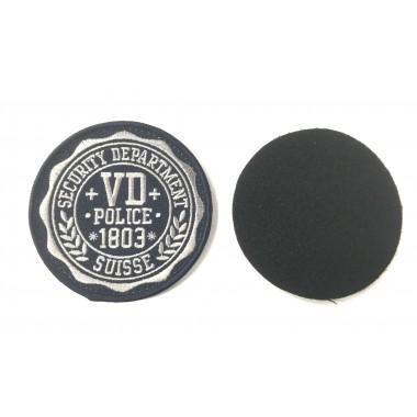 Badge Police departement velcro